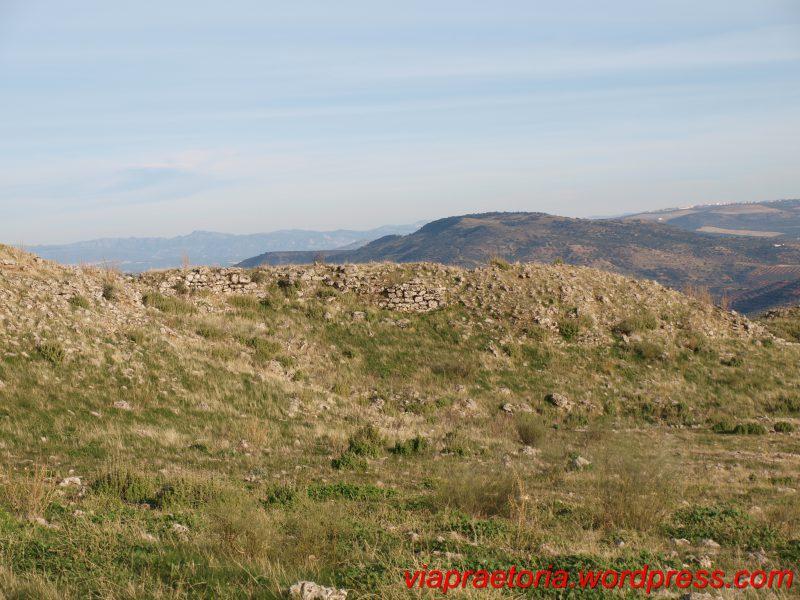 Muralla del oppidum
